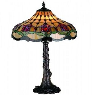 Cleaning a Tiffany Lamp