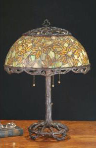 Picture of Meyda Tiffany's Autumn collection large table lamp