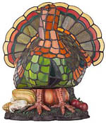 Harvest Turkey Accent Lamp Picture