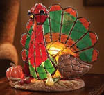 Thanksgiving Turkey Novelty Lamp Picture